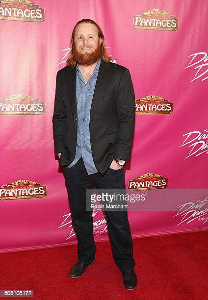 Justin Turner attends Opening Night Of 'Dirty Dancing The Classic Story On Stage' at the Pantages Theatre on February 2 2016 in Hollywood California