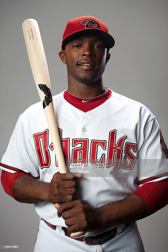 Justin Upton #10 of the Arizona Diamondbacks poses during photo day at Salt River Fields at Talking Stick on March 1, 2012 in Scottsdale, Arizona.