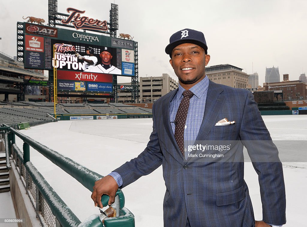 Detroit Tigers Introduce Justin Upton