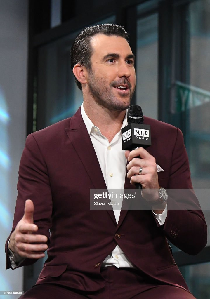 Build Presents Justin Verlander Discussing World Series Win And His & Kate Upton's Wedding