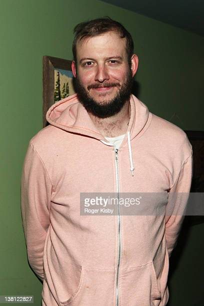 Justin Vernon of Bon Iver attends the Bushmills Since Way Back party at The Wooly on February 2 2012 in New York City