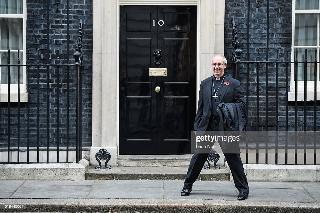 The Archbishop Of Canterbury Pays A Visit To Downing Street