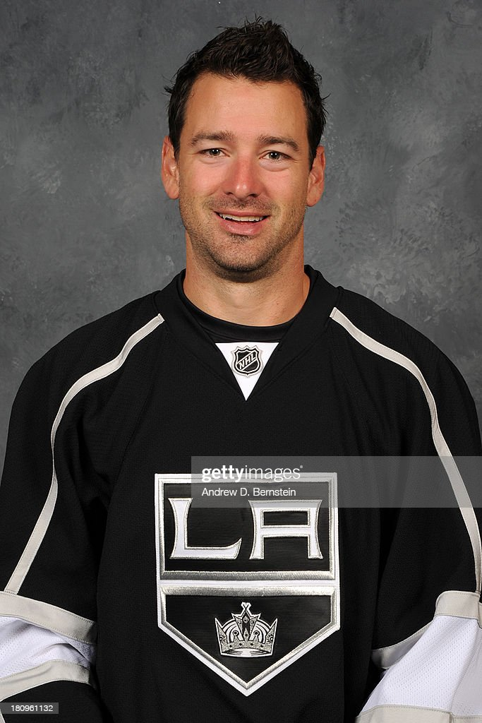 <a gi-track='captionPersonalityLinkClicked' href=/galleries/search?phrase=Justin+Williams+-+Ice+Hockey+Player&family=editorial&specificpeople=201745 ng-click='$event.stopPropagation()'>Justin Williams</a> of the Los Angeles Kings poses for his official headshot for the 2013-2014 season at Staples Center on September 8, 2013 in Los Angeles, California.
