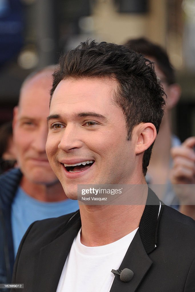Justin Willman visits Extra at The Grove on February 25, 2013 in Los Angeles, California.