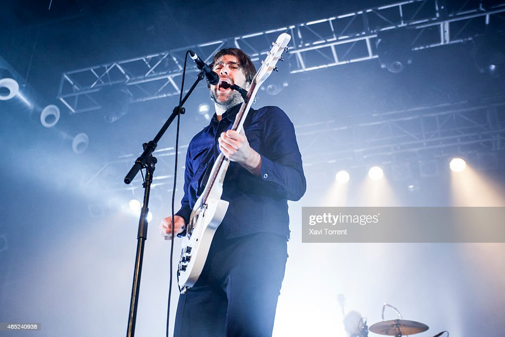 Justin Young of The Vaccines performs on stage at BCN Live by Sony on March 4 2015 in Barcelona Spain