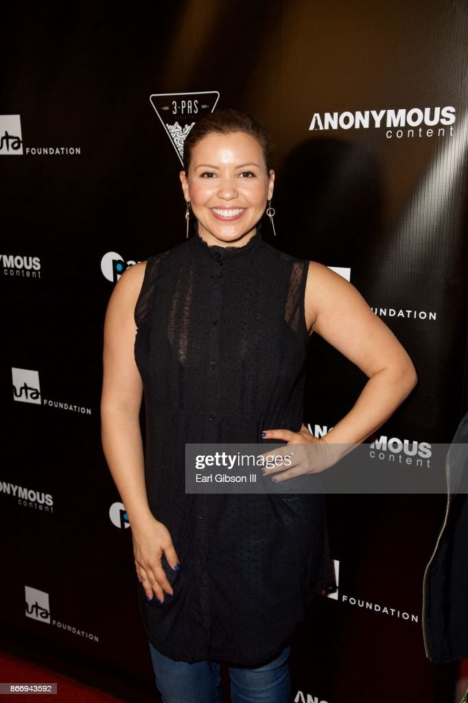 Justina Machado attends Fuerza Mexico Fundraiser at Conga Room on October 26, 2017 in Los Angeles, California.