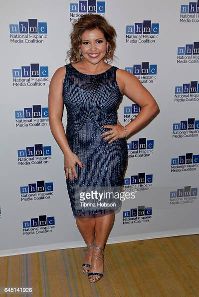 Justina Machado attends the National Hispanic Media Coalition's 20th Annual Impact Awards Gala at Regent Beverly Wilshire Hotel on February 24 2017...