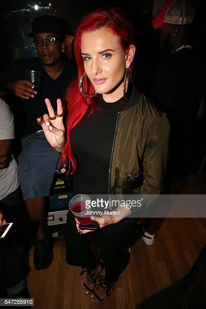 Justina Valentine attends the Lil Durk 2X Listening Session at Quad Studios on July 13 2016 in New York City