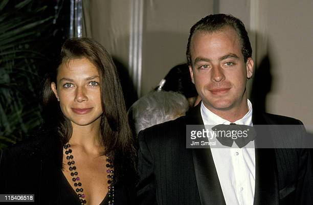 Justine Bateman and Leif Garrett during American Film Institute Honors Gregory Peck at Beverly Hilton Hotel in Beverly Hills CA United States