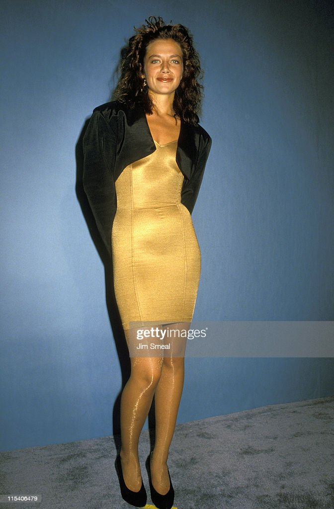 <a gi-track='captionPersonalityLinkClicked' href=/galleries/search?phrase=Justine+Bateman&family=editorial&specificpeople=240325 ng-click='$event.stopPropagation()'>Justine Bateman</a> during 39th Annual Emmy Awards - September 20, 1987 at Pasadena Civic Auditorium in Pasadena, California, United States.