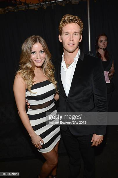 Justine Ezarik and actor Ryan Kwanten attend the 3rd Annual Streamy Awards at Hollywood Palladium on February 17 2013 in Hollywood California