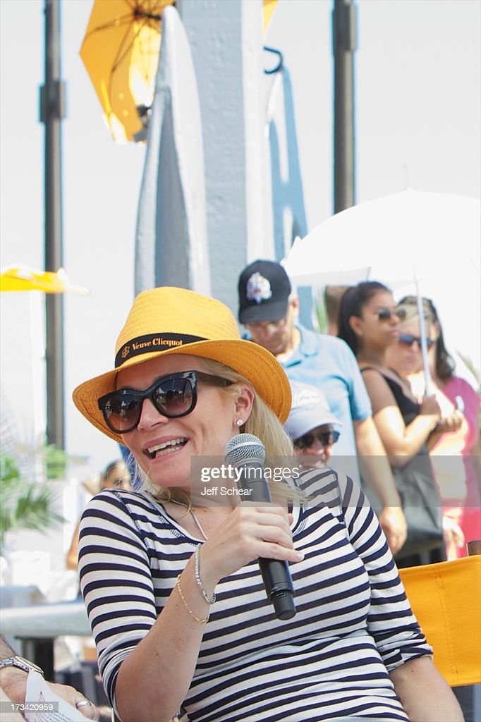 Justine Fedak , Senior Vice President and Head of Brand, Advertising and Sponsorships for BMO Financial Group, attends Michigan Avenue Magazine and The Chicago Yacht Club host Ashore Thing presented by BMO Harris Bank on July 13, 2013 in Chicago, Illinois.