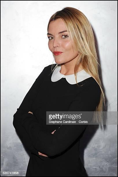 Justine Fraioli attends the Escada Factory Party in Paris
