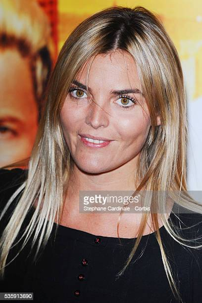 Justine Fraioli attends the premiere of 'Fatal' in Paris