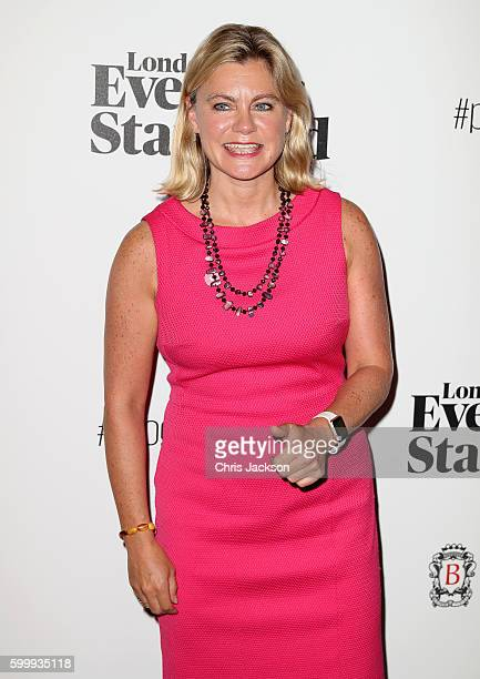 Justine Greening attends London Evening Standard's Progress 1000 at Science Museum on September 7 2016 in London England