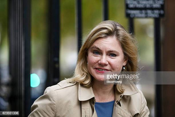 Justine Greening UK education secretary arrives to attend the weekly cabinet meeting at Downing Street in London UK on Tuesday Nov 15 2016 The UK...
