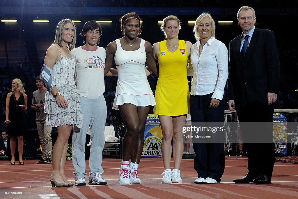 Best of Belgium 2010 - Kim Clijsters and Serena Williams Tennis Match