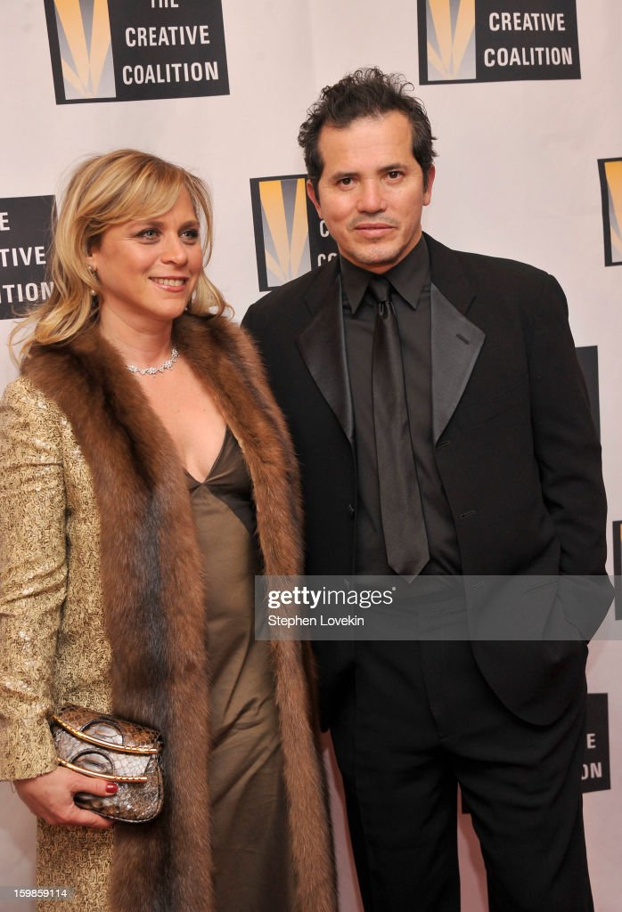 Justine Maurer and Actor John Leguizamo attend The Creative Coalition's 2013 Inaugural Ball at the Harman Center for the Arts on January 21, 2013 in Washington, United States.