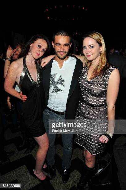 Justine McCarthy Ricardo Rodriguez Leon and Caroline McCarthy attend American Red Cross Concern Worldwide and The Edeyo Foundation Fundraiser at 1...