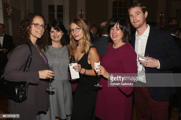 Justine McLaughlin Hilary Kolman Sophie Harris Beth Chebat and Andrew Peterson attend Single Parent Resource Center's 2017 Fall Fete at Cosmopolitan...