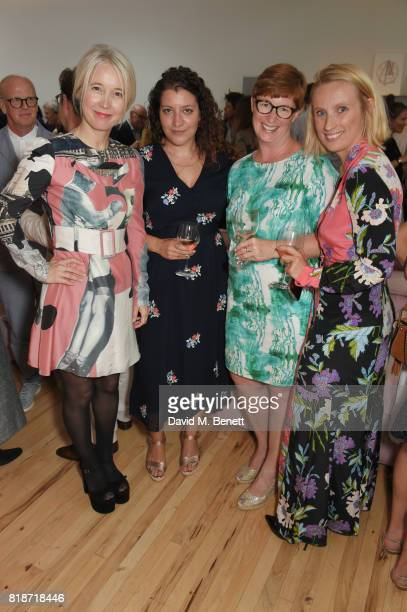 Justine Simons Deputy Mayor for Culture and the Creative Industries Leah Kreitzman and guests attend the Mayor of London's Summer Culture Reception...