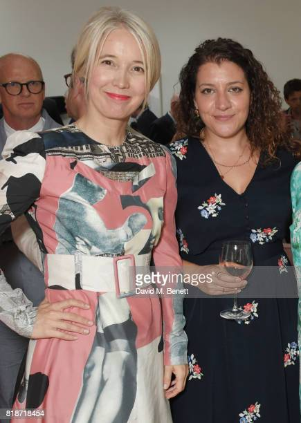 Justine Simons Deputy Mayor for Culture and the Creative Industries and Leah Kreitzman attend the Mayor of London's Summer Culture Reception on July...