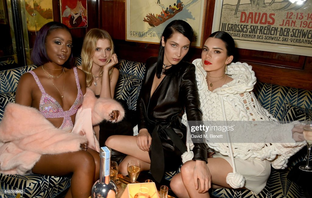 Behind The Velvet Rope: Party Stars At London Fashion Week