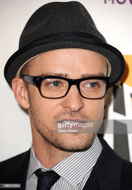 Justine Timberlake attends the 14th Annual Hollywood Awards Gala Presented By Starz at The Beverly Hilton hotel on October 25 2010 in Beverly Hills...