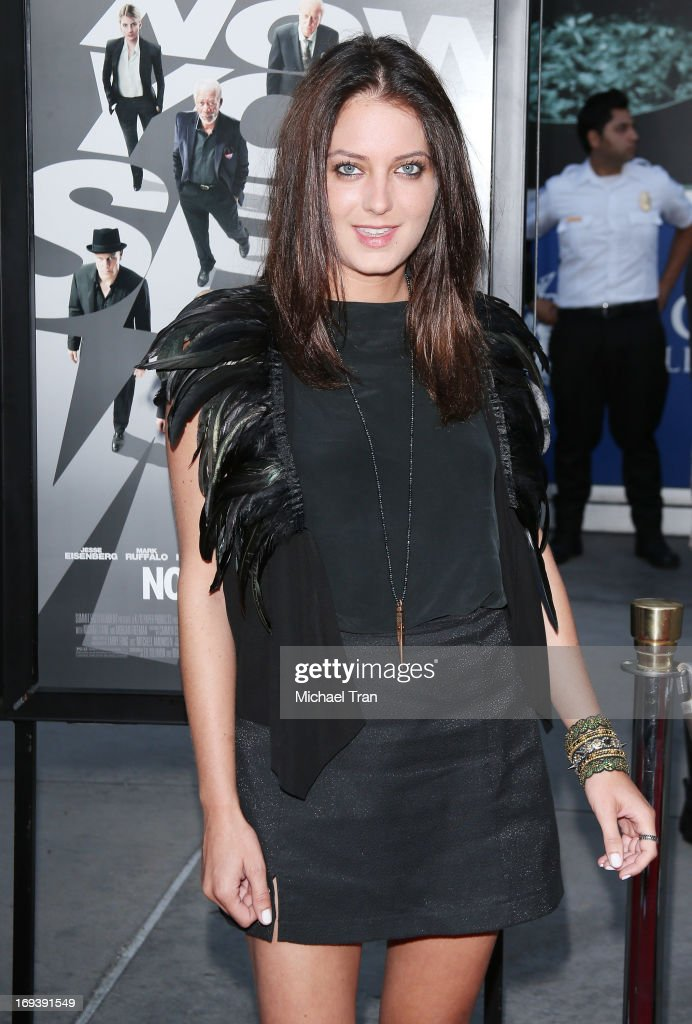 Justine Wachsberger arrives at the Los Angeles special screening of 'Now You See Me' held at ArcLight Hollywood on May 23, 2013 in Hollywood, California.