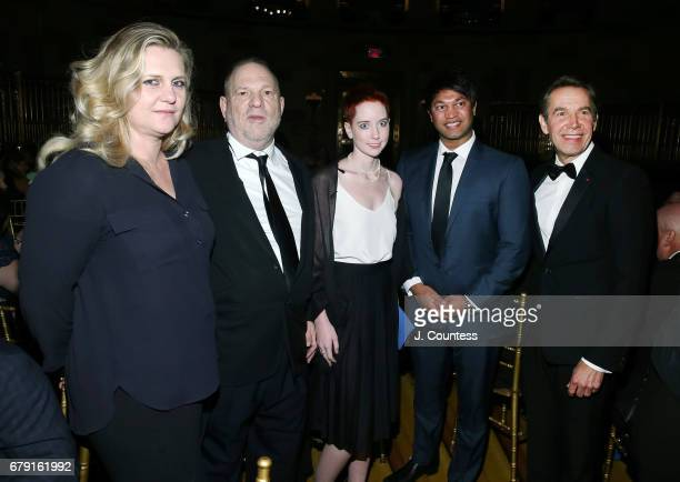 Justine Wheeler Koons founder of the Weinstein Company Harvey Weinstein Remy Weinstein author Saroo Brierly and International Centre For Missing...