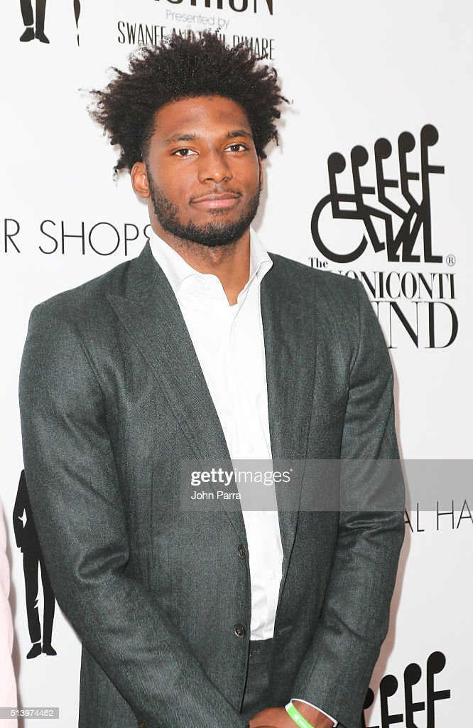 Justise Winslow attends Destination Fashion 2016 to benefit The Buoniconti Fund to Cure Paralysis, the fundraising arm of The Miami Project to Cure Paralysis at Bal Harbour Shops on March 5, 2016 in Miami, Florida.