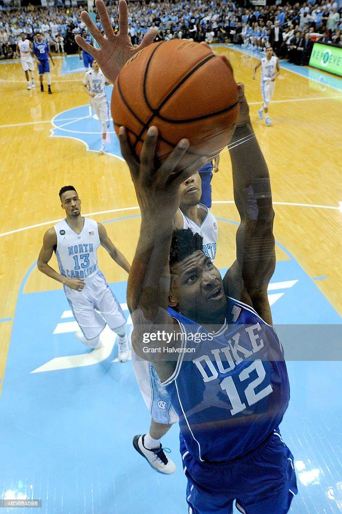 Duke North Carolina Photos Images Getty Justise Winslow 12 Blue