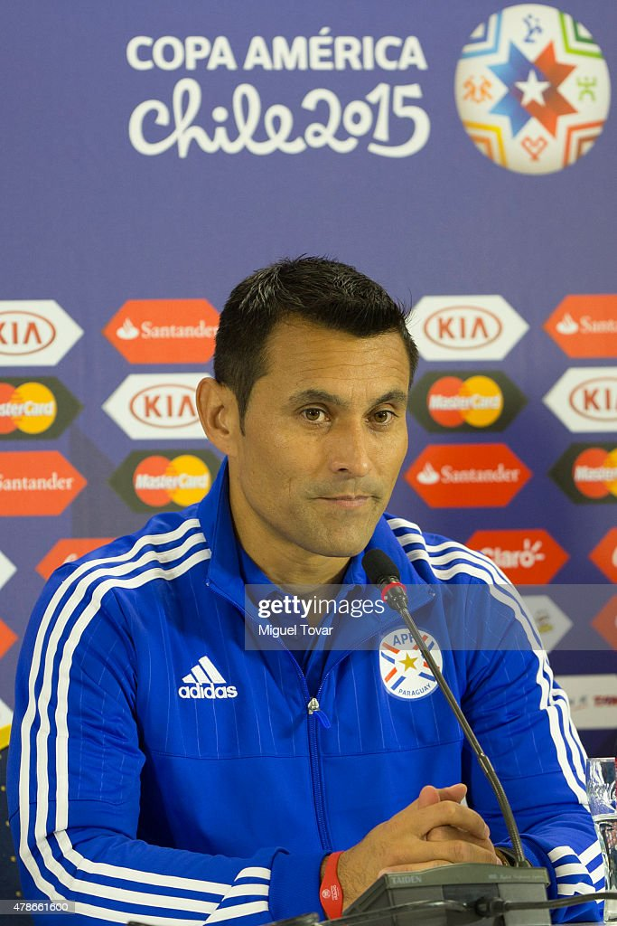 Paraguay Training & Press Conference - 2015 Copa America Chile