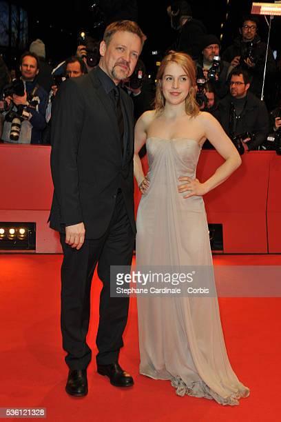 Justus von Dohnanyi and Paula Kahlenberg attend 'Jud Suess Film Ohne Gewissen' Premiere during the 60th Berlin International Film Festival