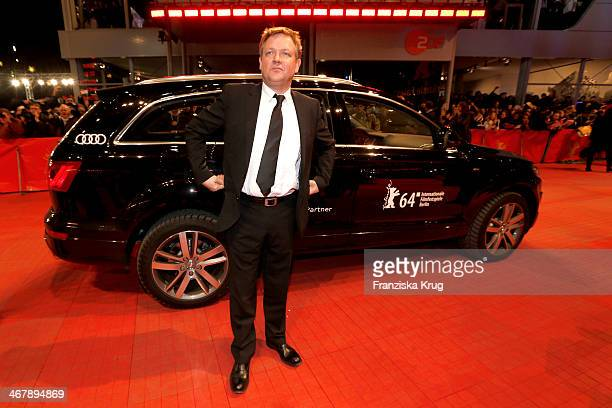 Justus von Dohnanyi attends 'The Monuments Men' Premiere Audi during The 64th Berlinale International Film Festival at Berlinale Palast on February...