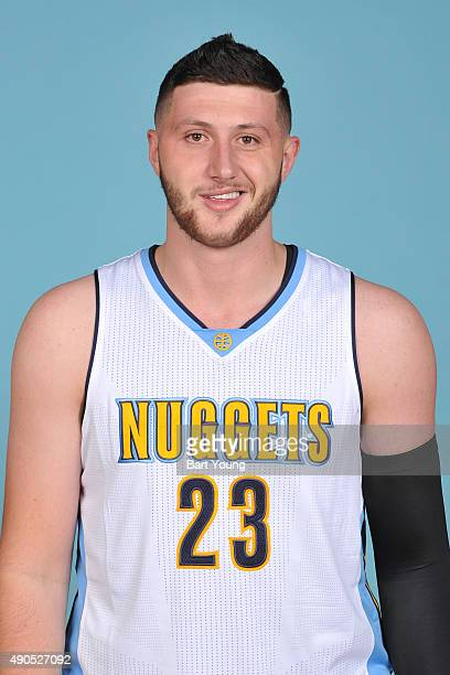 Jusuf Nurkic of the Denver Nuggets poses for a head shot on September 28 2015 at the Pepsi Center in Denver Colorado NOTE TO USER User expressly...