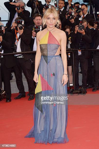 Jutry member Sienna Miller attends 'The Sea Of Trees' Premiere during the 68th annual Cannes Film Festival on May 16 2015 in Cannes France