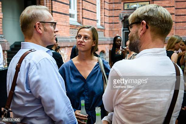 Jutta Ohms attends the 'Round Table brands4friends X Tim Labenda' on August 31 2015 in Berlin Germany