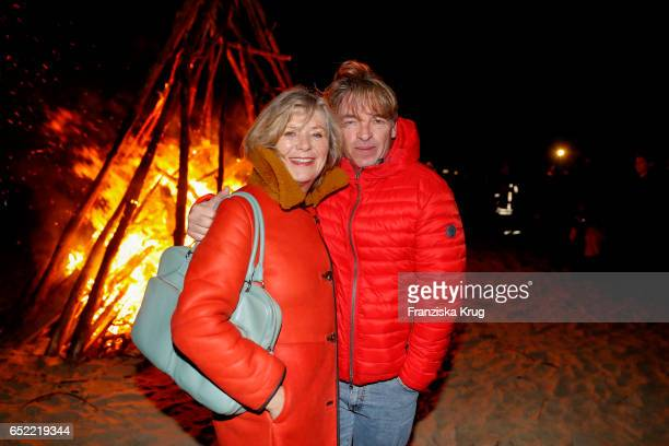 Jutta Speidel and Andre Eisermann attend the 'Baltic Lights' charity event on March 11 2017 in Heringsdorf Germany Every year German actor Till...