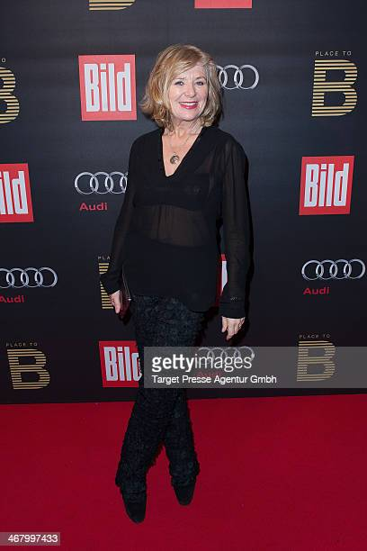 Jutta Speidel attends the BILD 'Place to B' Party at Grill Royal on February 8 2014 in Berlin Germany