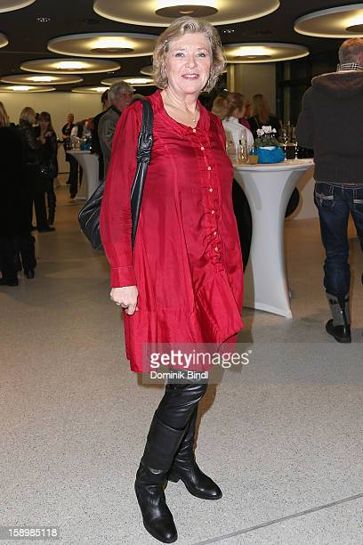 Jutta Speidel attends the show 10 years of Appassionata Friends Forever on January 4 2013 in Munich Germany