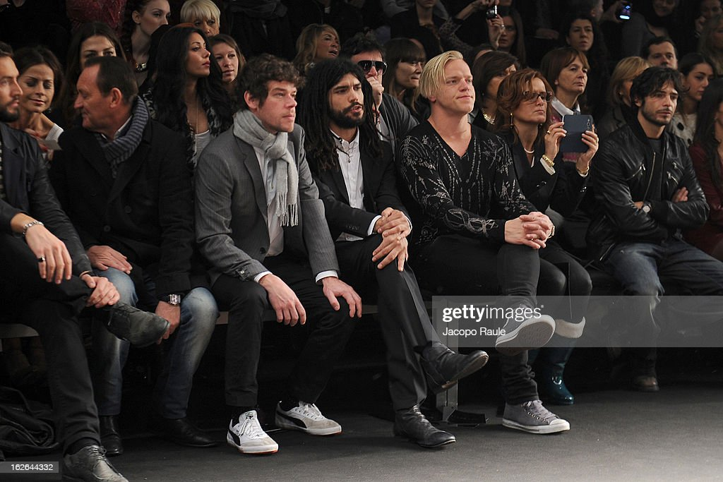 Jutty Ranx attend the John Richmond fashion show as part of Milan Fashion Week Womenswear Fall/Winter 2013/14 on February 25, 2014 in Milan, Italy.