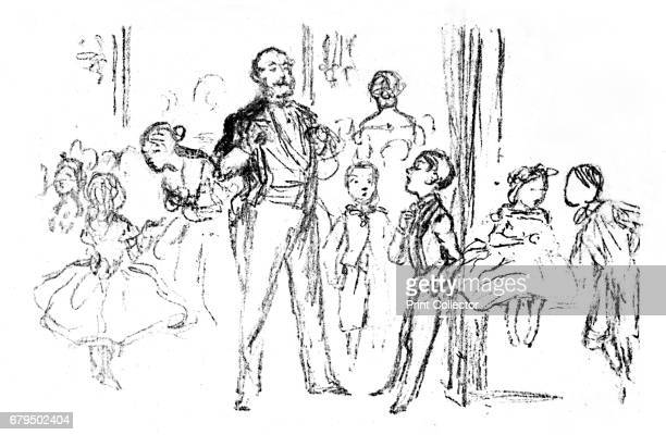 Juvenile Party From 'Punch' A work devoted to the serious glorification of juvenile aristocracy From British Book Illustration Yesterday and Today...