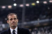 Juventus' coach Massimiliano Allegri looks on during the Italian Serie A football match Juventus Vs Genoa on March 22 2015 at the 'Juventus Stadium'...