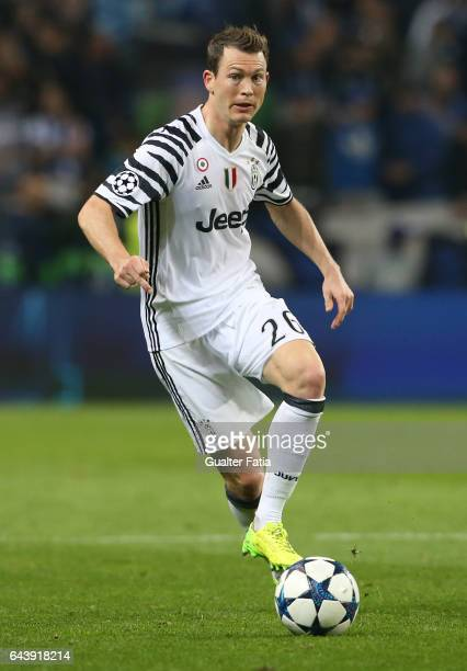 Juventus defender Stephan Lichtsteiner from Switzerland in action during the UEFA Champions League Round of 16 First Leg match between FC Porto and...