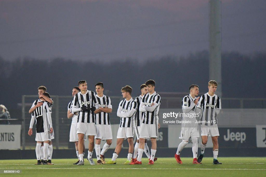 Juventus delusion during the TIM Cup Primavera match between Juventus U19 and Torino FC U19 at Juventus Center Vinovo on November 29, 2017 in Vinovo, Italy.
