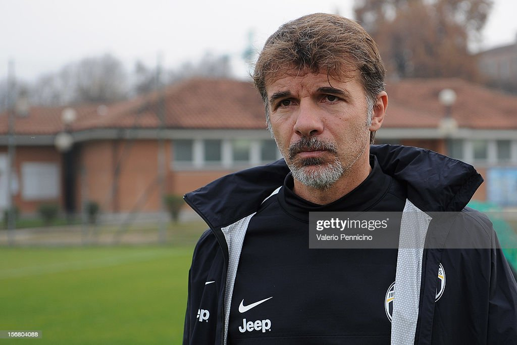 Juventus FC head coach Baroni looks on during the Juvenile match between Juventus FC and FC Parma at Juventus Center Vinovo on November 21, 2012 in Vinovo, Italy.