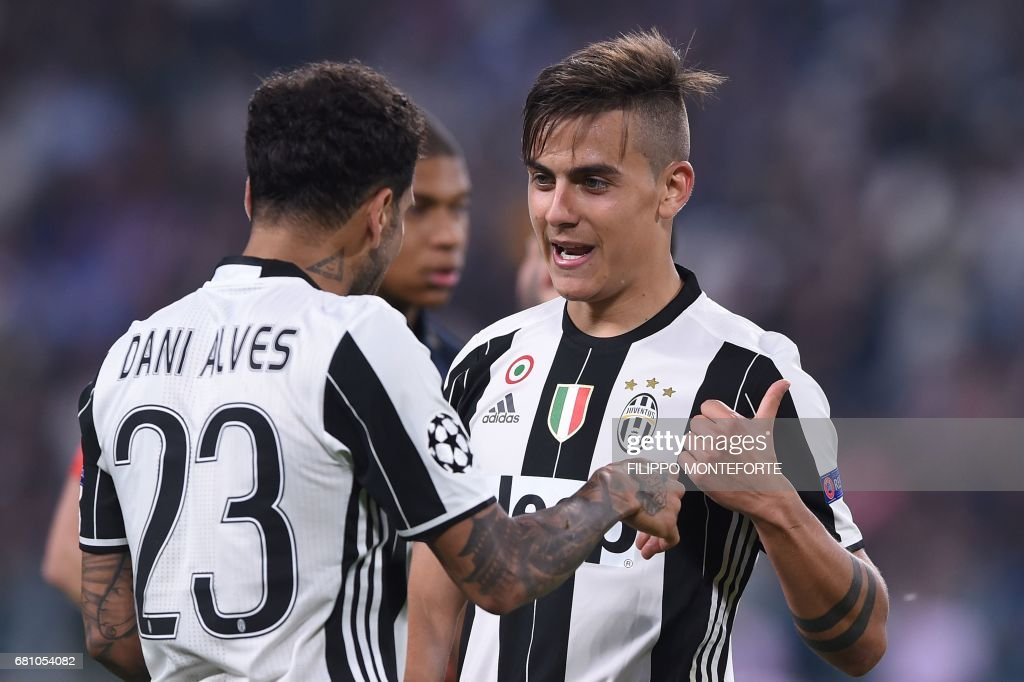 FBL-EUR-C1-JUVENTUS-MONACO : News Photo