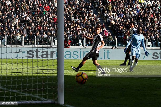 Juventus forward Paulo Dybala in action during the Serie A football match n21 JUVENTUS LAZIO on at the Juventus Stadium in Turin Italy