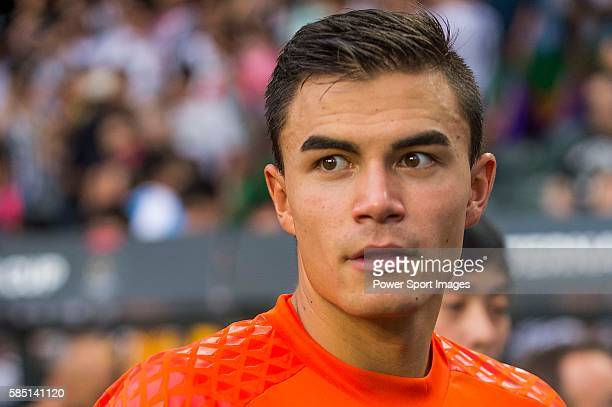 Juventus goalkeeper Emil Audero looks on after the South China vs Juventus match of the AET International Challenge Cup on 30 July 2016 at Hong Kong...